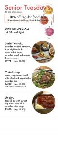 senior menu